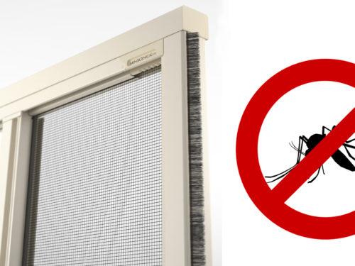 Non fare entrare le zanzare: Zanzariera Bettio Miniscenica
